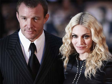 Guy Ritchie and Madonna. Image from IBNlive