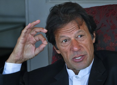 File picture of Imran Khan. Reuters