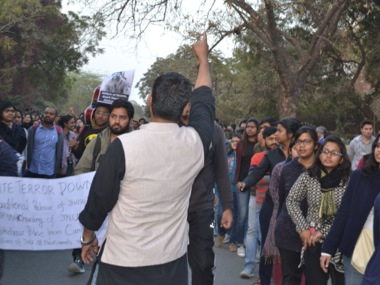 Protests at JNU. File photo. Tarique Anwar/Firstpost