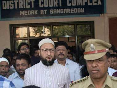 File photo of Owaisi. PTI