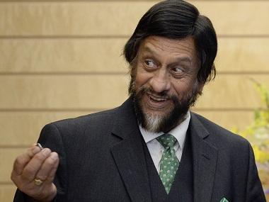 RK Pachauri. File photo. Reuters
