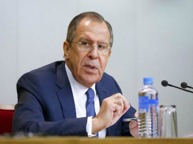 Russian Foreign Minister Sergei Lavrov.Reuters
