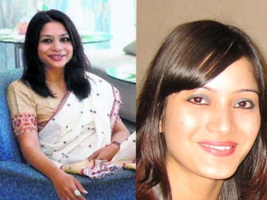 File photos of Indrani Mukerjea and Sheena Bora. Agencies