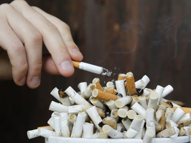 Results show that people who stopped smoking abruptly were 25 per cent more likely to quit. REUTERS