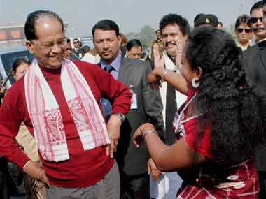 A file photo of Tarun Gogoi. PTI