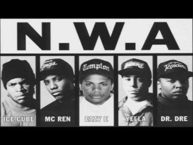 N.W.A. Screengrab from YouTube video
