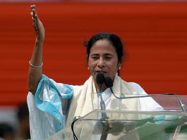 File image of Mamata Banerjee. AFP