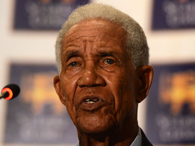 West Indian cricket legend Garfield Sobers. AFP