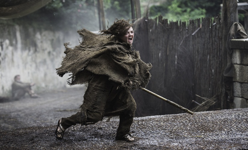 Arya Stark. Game of Thrones, HBO and related service marks are the property of Home Box office, Inc. All rights reserved