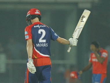 Gujarat Lions survived Chris Morris' onslaught to win by one run. BCCI