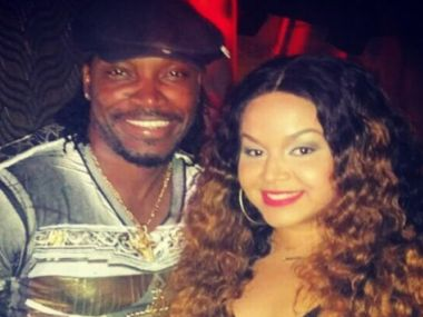 Chris Gayle and Natasha Berridge. Image Courtesy: Chris Gayle Instagram