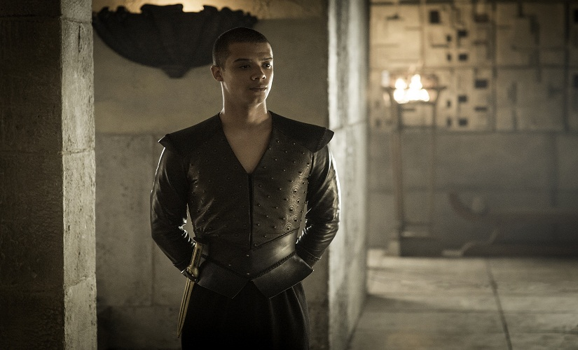 Grey Worm. Game of Thrones, HBO and related service marks are the property of Home Box office, Inc. All rights reserved