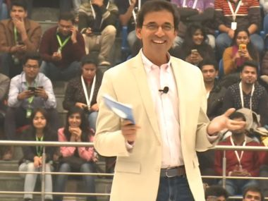 Harsha Bhogle. Youtube screengrab