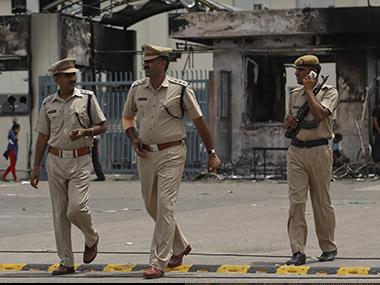 Haryana police. Representational image. Reuters