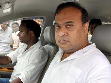 Himanta Biswa Sarma in a file photo. PTI