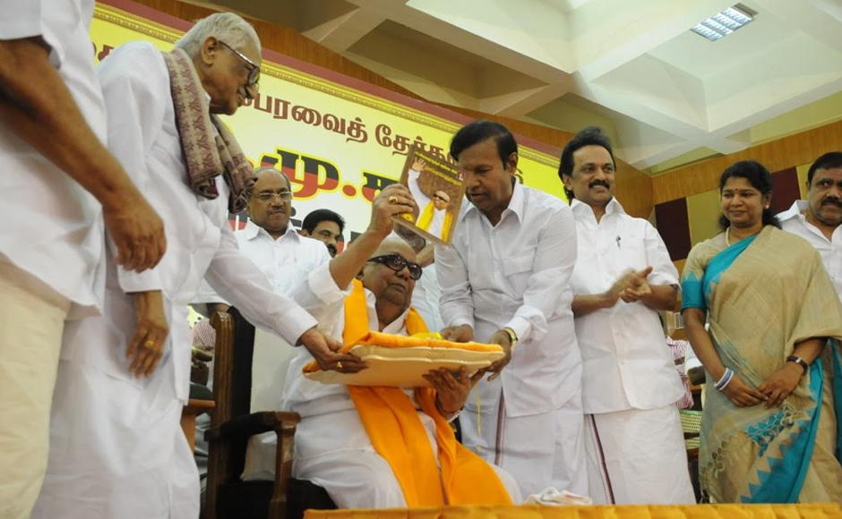 President M Karunanidhi on Sunday promised prohibition in Tamil Nadu if his party returned to power after the 16 May assembly elections as well as reduction in milk price by Rs 7 per litre, and setting up of Anna canteens. Firstpost