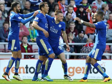 Leicester City will be crowned Premier League champions if they win against ManUtd at Old Trafford. AFP