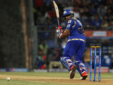 File photo of Mumbai Indians skipper Rohit Sharma batting. Image courtesy: BCCI
