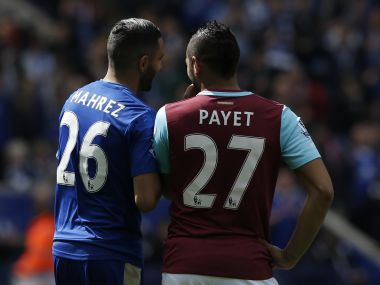 Leicester City's Riyad Mahrez and West Ham United's Dimitri Payet have been pivotal for their teams this season. AFP