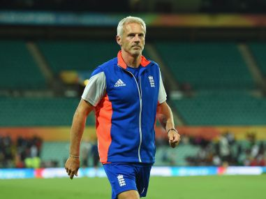 File photo of former England coach Peter Moores. Getty Images