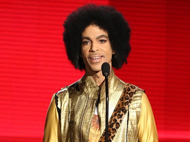 Prince. Image from AP