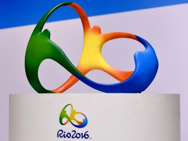 The official logo for the Rio 2016 Olympics. Getty Images