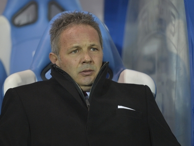 Sinisa Mihajlovic was sacked as AC Milan coach. AFP