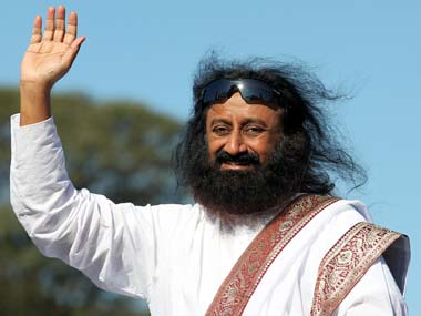 Sri Sri Ravi Shankar. Image from Reuters