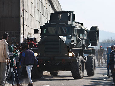 Security forces at Pathankot. File photo. AP