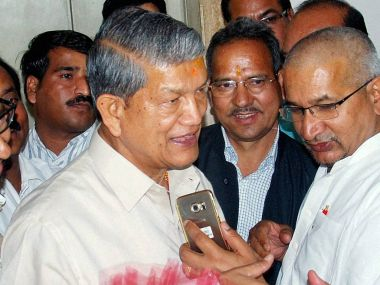 File image of former Uttarakhand chief minister Harish Rawat. PTI