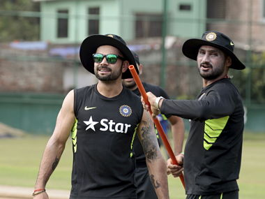 File photo of Virat Kohli and Harbhajan Singh. Reuters