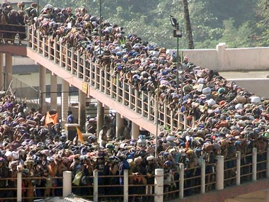 Representational image of Sabarimala Temple. Reuters