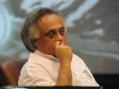Congress leader Jairam Ramesh. AFP