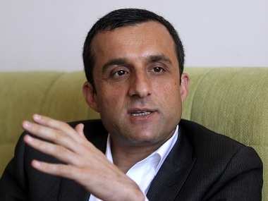 Amrullah Saleh, Afghanistan's former intelligence chief, in a file photo. Reuters
