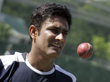 File photo of Anil Kumble. Reuters