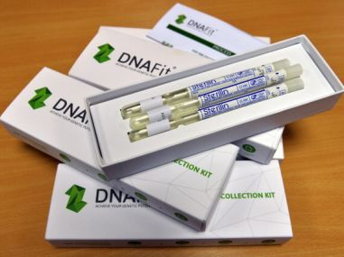 A DNA swab testing drug kit. AFP