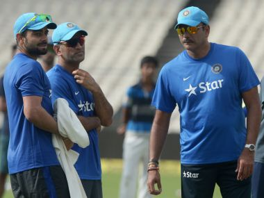 Ravis Shastri has served as India team director before. AFP