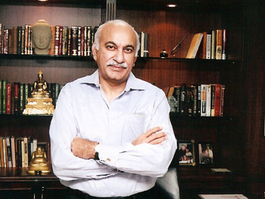 Minister of external affairs MJ Akbar. Facebook
