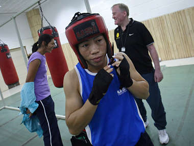 Mary Kom has said lack of federation is hurting boxing in India. Reuters