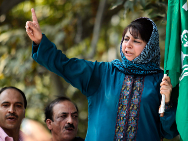 File image of Mehbooba Mufti. Reuters