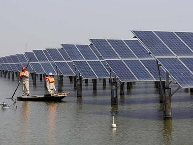 China is the leading spender on renewable energy this year. File Photo. Reuters