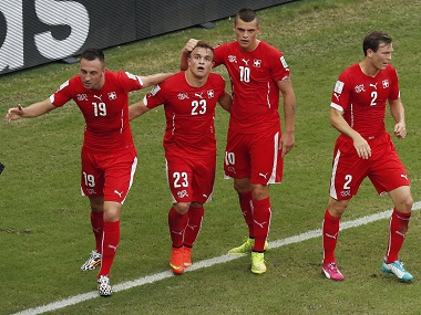 Switzerland have found goals hard to come by. Reuters