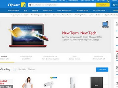 Flipkart screengrab