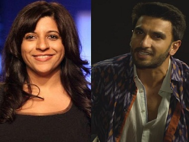 Zoya Akhtar confirms next film's on street rappers. Will Ranveer Singh star in 'Gully Boy'?