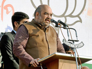 A file photo of Amit Shah. PTI