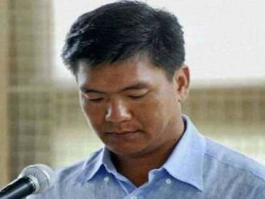 Pema Khandu, newly appointed Chief Minister of Arunachal Pradesh