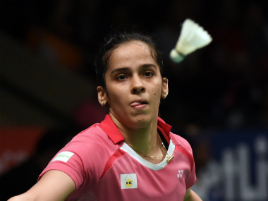 File photo of Saina Nehwal. AFP