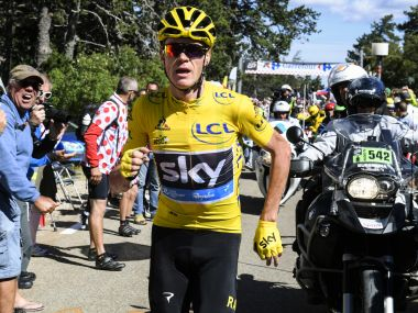 The 13th stage of Tour de France went ahead under heightened security. AFP