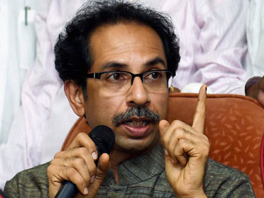 Uddhav Thackeray. PTI