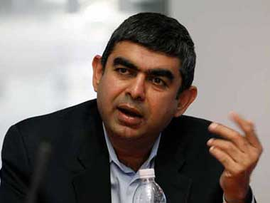 Vishal Sikka, CEO & MD, Infosys. Reuters